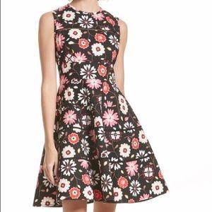 NWOT Kate Spade Casa Flora Fit & Flare Dress Sz 2